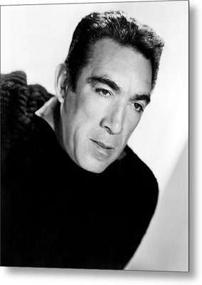 The Wild Party, Anthony Quinn, 1956 Metal Print