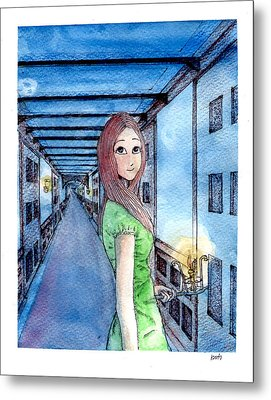 The Winchester Mystery House Metal Print by Katchakul Kaewkate