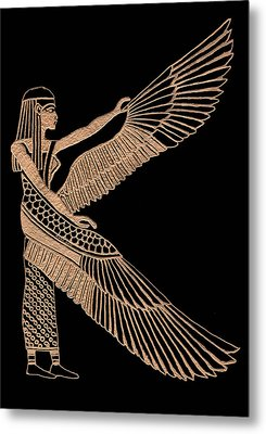 The Winged Isis Metal Print by Jim Ross