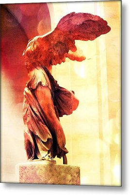 The Winged Victory  Metal Print by Marianna Mills