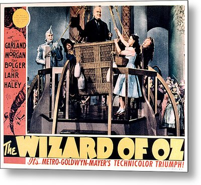 The Wizard Of Oz, Jack Haley, Ray Metal Print by Everett