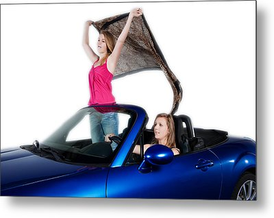 Thelma And Louise Metal Print by Jim Boardman