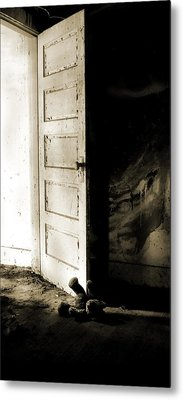 There's Something In My Room... Metal Print by Nyla Alisia