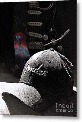 Thinking Cap Metal Print by Everett Bowers