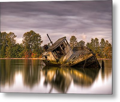 This Is British Columbia No.55 - Left To Die Metal Print by Paul W Sharpe Aka Wizard of Wonders