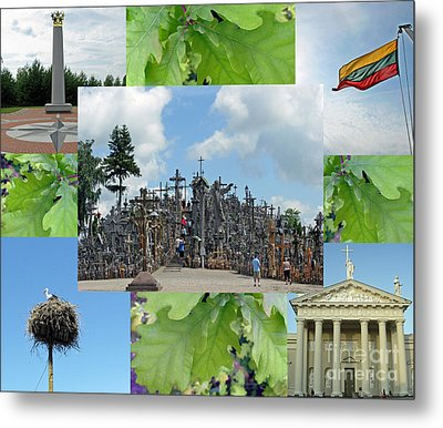 Metal Print featuring the photograph This Is Lietuva- Lithuania by Ausra Huntington nee Paulauskaite