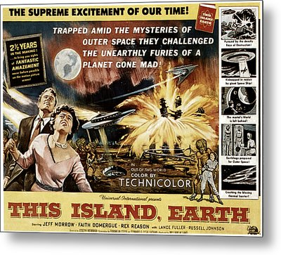 This Island, Earth, From Left Rex Metal Print by Everett