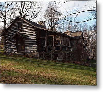 This Old Cabin Metal Print by Robert Margetts