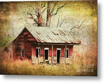 This Old House Metal Print by Judi Bagwell