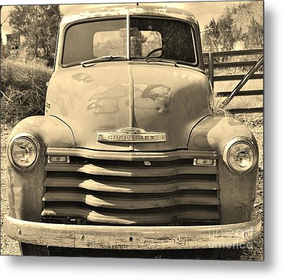This Old Truck Metal Print by William Wyckoff