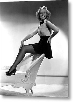 This Way Please, Betty Grable, 1937 Metal Print by Everett