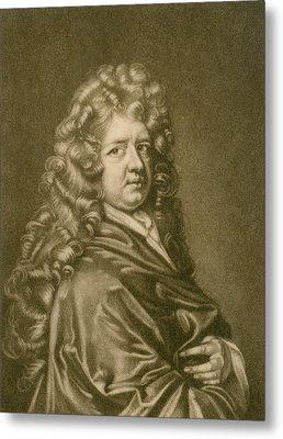 Thomas Betterton C. 1635-1710, Leading Metal Print by Everett
