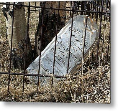 Thomas Hooper Killed Metal Print by Stephen  Johnson