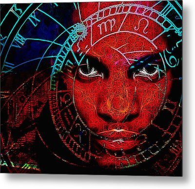Thoughts Of Astronomy Metal Print by Devalyn Marshall