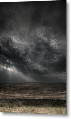 Threatening Skies Metal Print