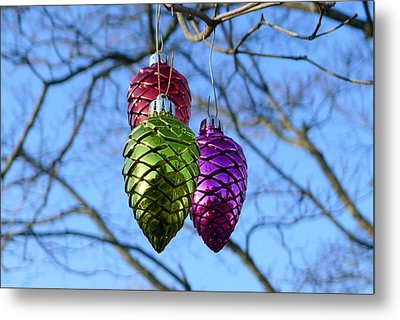 Metal Print featuring the photograph Three Cones by Richard Reeve