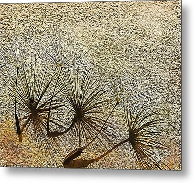 Metal Print featuring the digital art Three Wishes by Artist and Photographer Laura Wrede