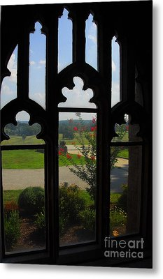 Metal Print featuring the photograph Through The Chapel Arches by Cindy Manero