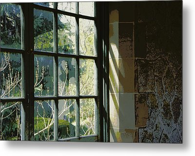 Metal Print featuring the photograph View Through The Window by Marilyn Wilson
