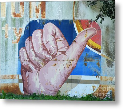 Thumbs Up Metal Print by Joe Jake Pratt