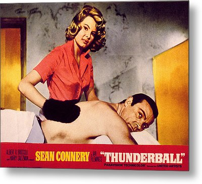Thunderball, Molly Peters, Sean Metal Print by Everett