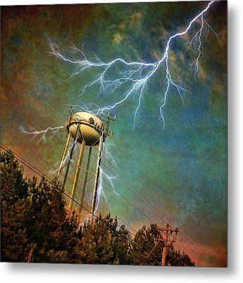 Thundering Bolts Metal Print