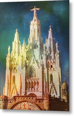 Tibidabo Metal Print by Rod Jones