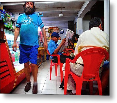 Tienda El Che Metal Print by Skip Hunt