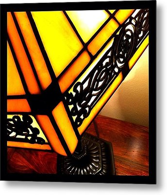 Tiffany Metal Print by Mark B