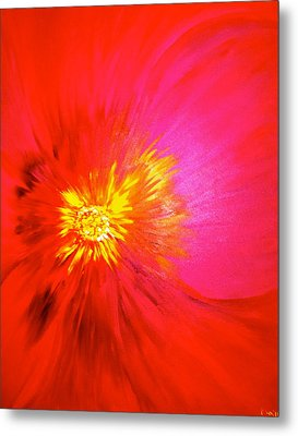 Tiger Flower.. Metal Print by Pretchill Smith