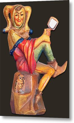 Till Eulenspiegel - The Merry Prankster Metal Print by Christine Till