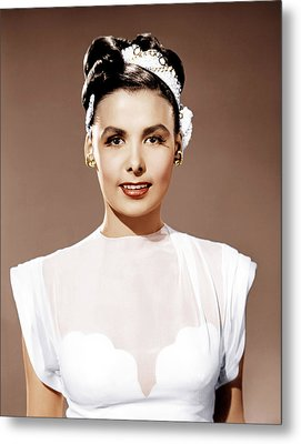 Till The Clouds Roll By, Lena Horne Metal Print by Everett