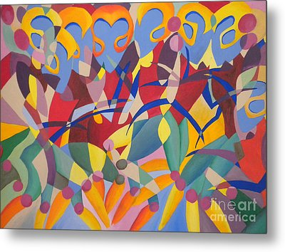 Time Dancer Metal Print by Silvie Kendall