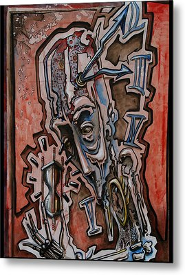 Time Keeper Metal Print by Joshua Dixon