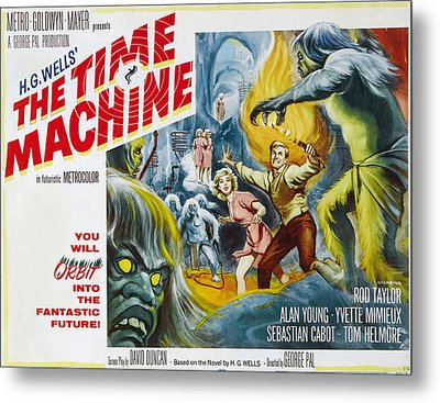Time Machine, The, Yvette Mimieux, Rod Metal Print