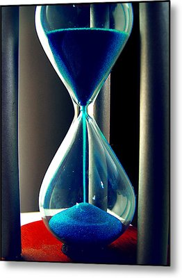 Time Makes Magic Metal Print by Guadalupe Nicole Barrionuevo