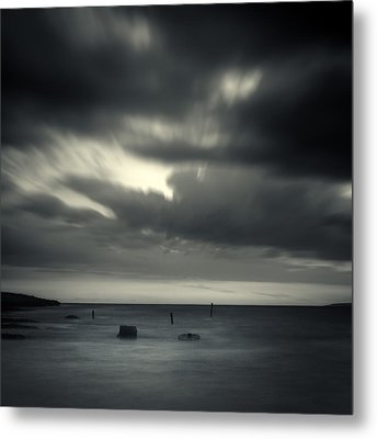 Time Metal Print by Stelios Kleanthous
