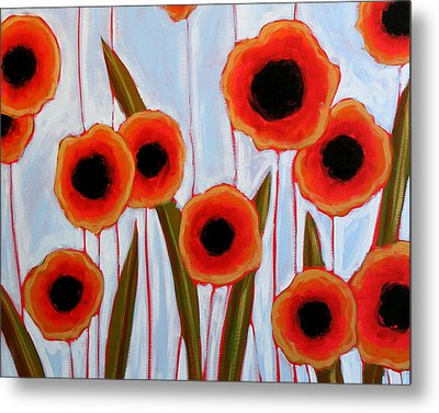 Time To Bloom Metal Print by Amy Giacomelli