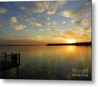 Time To Reflect Metal Print by Robert Jensen
