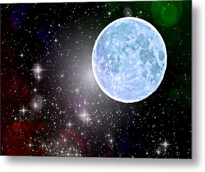 Time Travel Metal Print by Marianna Mills