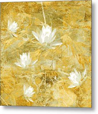 Timeless Beauty Photo Collage Metal Print by Ann Powell