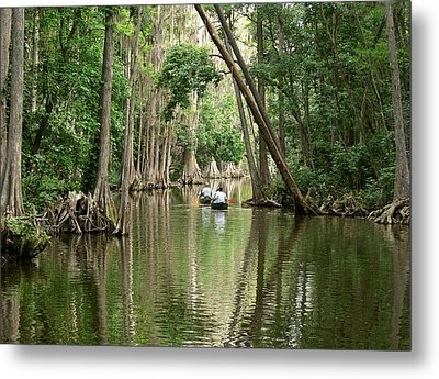 Timeless Passage Metal Print by Peg Urban