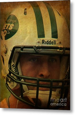 Timothy Richard Tebow - Tim Tebow - New York Jets   Metal Print