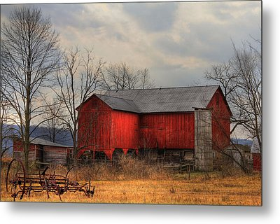 Tin Roof Metal Print