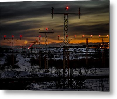 Metal Print featuring the photograph TMP by Matti Ollikainen