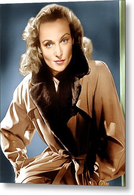 To Be Or Not To Be, Carole Lombard, 1942 Metal Print by Everett