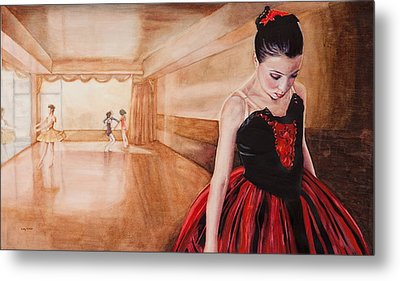 To Dance To Dream Metal Print by Kathy Michels