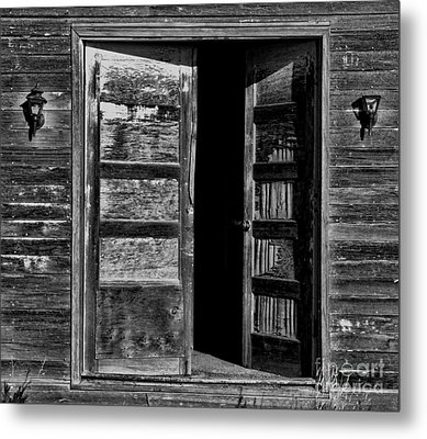 to Dare Metal Print by Edward R Wisell