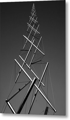 To Infinity Metal Print by Steven Ainsworth