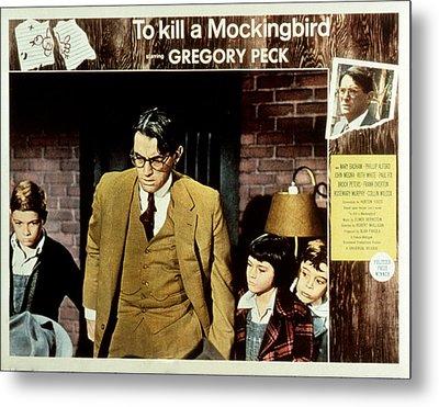 To Kill A Mockingbird, Gregory Peck Metal Print